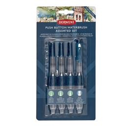 Derwent Push Button Waterbrush Set Thumbnail Image 1