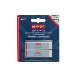 Derwent Slim Eraser Twin Pack Thumbnail Image 1