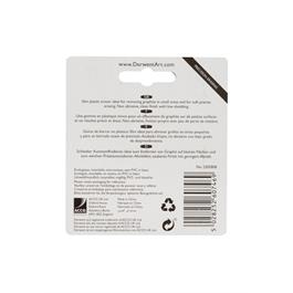Derwent Slim Eraser Twin Pack Thumbnail Image 2