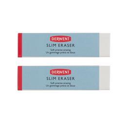 Derwent Slim Eraser Twin Pack Thumbnail Image 4