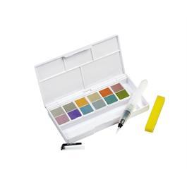 Derwent Metallic Paint 12 Pan Palette Thumbnail Image 2