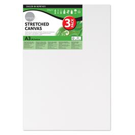 Daler Rowney Simply Stretched Canvas Triple Packs Thumbnail Image 1