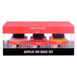 Amsterdam Acrylic Ink Set 6x30ml thumbnail