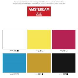 Amsterdam Acrylic Ink Set 6x30ml Thumbnail Image 1