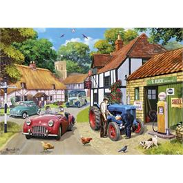 Running Repairs 100XXL Piece Jigsaw Puzzle Thumbnail Image 1
