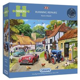 Running Repairs 100XXL Piece Jigsaw Puzzle Thumbnail Image 0