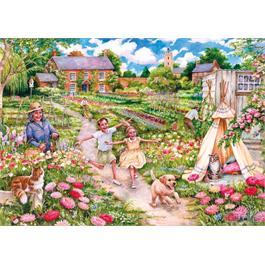 Childhood Memories 100XXL Piece Jigsaw Puzzle Thumbnail Image 1