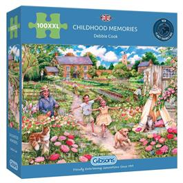 Childhood Memories 100XXL Piece Jigsaw Puzzle thumbnail