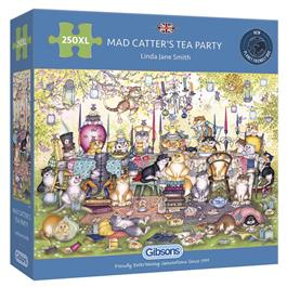 Mad Catter's Tea Party 250XL Piece Jigsaw Puzzle thumbnail