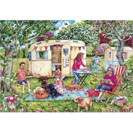 Caravan Escape  250XL Piece Jigsaw Puzzle Thumbnail Image 1