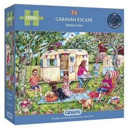 Caravan Escape  250XL Piece Jigsaw Puzzle thumbnail