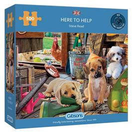 Here to Help 500 Piece Jigsaw Puzzle Thumbnail Image 0