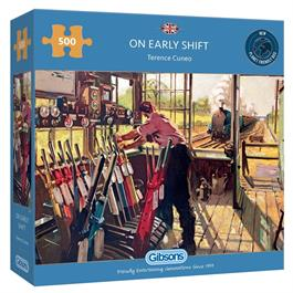 On Early Shift 500 Piece Jigsaw Puzzle Thumbnail Image 0
