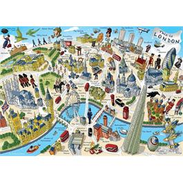 This is London 500 Piece Jigsaw Puzzle Thumbnail Image 1