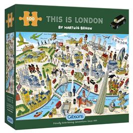 This is London 500 Piece Jigsaw Puzzle thumbnail