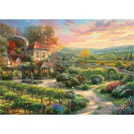 Wine Country Living Jigsaw Puzzle 1000 pieces (KInkade) Thumbnail Image 1