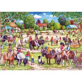 Shetland Pony Club 1000 Piece Jigsaw Puzzle  Thumbnail Image 1