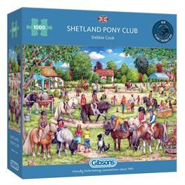 Shetland Pony Club 1000 Piece Jigsaw Puzzle  thumbnail