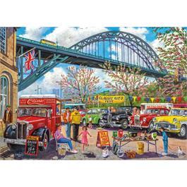 Newcastle 1000 Piece Jigsaw Puzzle Thumbnail Image 1