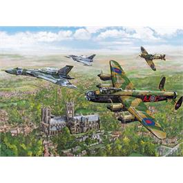 Changing of the Guard 1000 Piece Jigsaw Puzzle Thumbnail Image 1