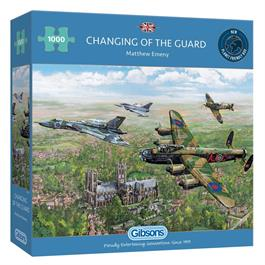 Changing of the Guard 1000 Piece Jigsaw Puzzle Thumbnail Image 0