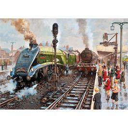 Spotters at Doncaster 1000 Piece Jigsaw Puzzle Thumbnail Image 1