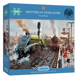 Spotters at Doncaster 1000 Piece Jigsaw Puzzle thumbnail