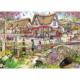 Daffodils & Ducklings 1000 Piece Jigsaw Puzzle Thumbnail Image 1