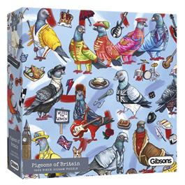 Pigeons of Britain 1000 Piece Jigsaw Puzzle thumbnail