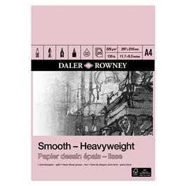 Daler Rowney Smooth Heavyweight Cartridge Pad 220gsm thumbnail