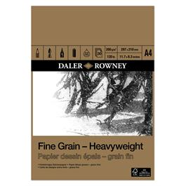 Daler Rowney Fine Grain Heavyweight Pad A4 thumbnail