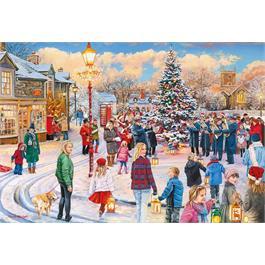 Village Celebrations 4 x 500 Piece Jigsaw Puzzle Thumbnail Image 4