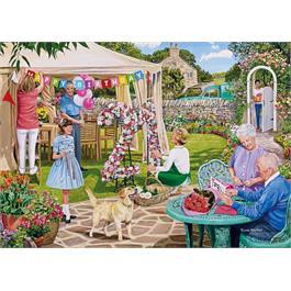 The Florist's Round 4 x 500 Piece Jigsaw Puzzle Thumbnail Image 4