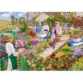 The Florist's Round 4 x 500 Piece Jigsaw Puzzle Thumbnail Image 3