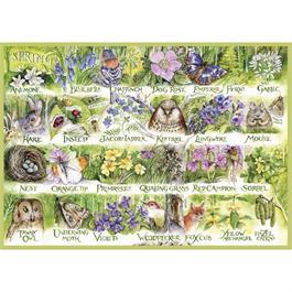 Woodland Seasons  4 x 500 Piece Jigsaw Puzzle Thumbnail Image 1