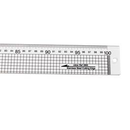 Jakar Acrylic Rule with Steel Cutting Edge 100cm Thumbnail Image 1