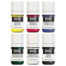Liquitex Soft Body Acrylic Mixing Set 6x22ml Thumbnail Image 1