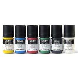 Liquitex Professional Acrylic Gouache Primaries Set 6x22ml Thumbnail Image 1