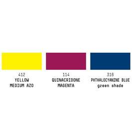 Liquitex Pouring Technique Primary Colours Set Thumbnail Image 2