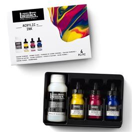Liquitex Pouring Technique Primary Colours Set Thumbnail Image 3