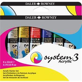 System 3 Acrylic Starter Set thumbnail