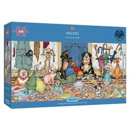 Walkies 636 Piece Jigsaw Puzzle thumbnail