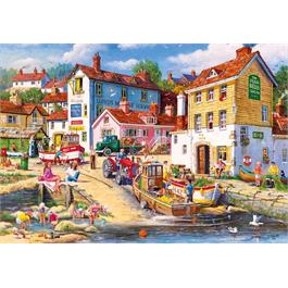 The Four Bells 2000 Piece Jigsaw Puzzle Thumbnail Image 1