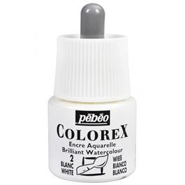 Pebeo Colorex Ink Opaque White 45ml thumbnail