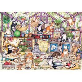 Gerty's Garden Retreat 1000 Piece Jigsaw Puzzle Thumbnail Image 1