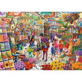 Gardener's Delight 500XL Piece Jigsaw Puzzle Thumbnail Image 1
