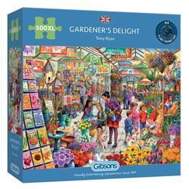 Gardener's Delight 500XL Piece Jigsaw Puzzle thumbnail