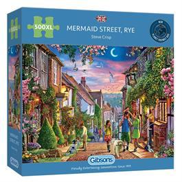 Mermaid Street Rye 500XL Piece Jigsaw Puzzle thumbnail