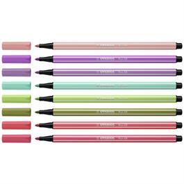 STABILO Pen 68 Wallet Of 8 New Colours Thumbnail Image 1