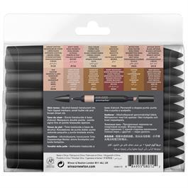 Winsor & Newton ProMarker 12 Skin Tones Set Thumbnail Image 3